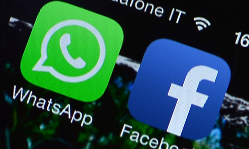 Facebook news use declining, WhatsApp growing