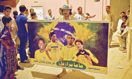 Footprints: 'Mama Brazil' of Malir