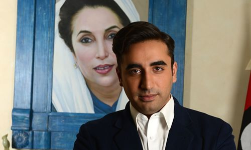 Bilawal's nomination papers accepted for Larkana seat