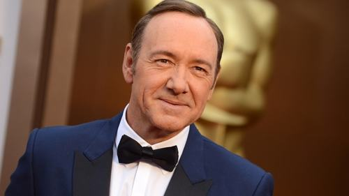 Kevin Spacey is returning to the silver screen next month