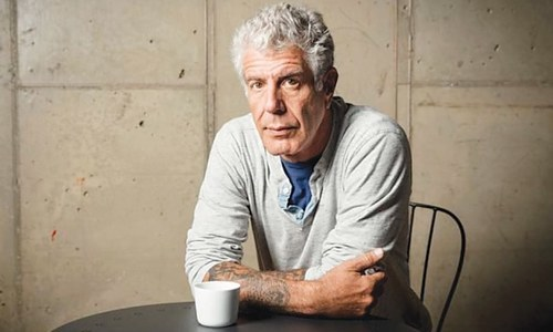RIP Anthony Bourdain, the gonzo chef