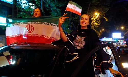 Iran bans public screening of World Cup matches for families