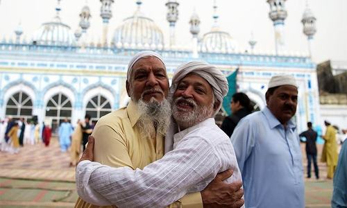 In pictures: Pakistan celebrate Eidul Fitr with traditional fervour