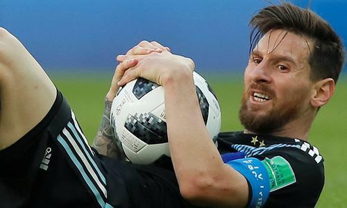 میسی نے پینالٹی ضائع کردی، ارجنٹائن فتح سے محروم