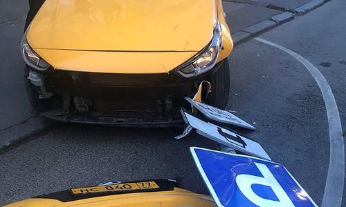 ماسکو میں بے قابو ٹیکسی کی ٹکر سے 8شائقین زخمی