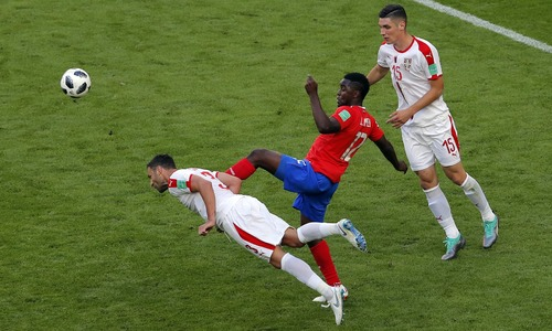 World Cup 2018: Kolarov stunner gives Serbia victory over Costa Rica