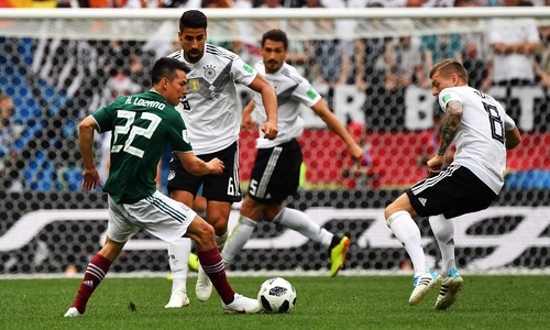 World Cup 2018: Mexico up sets defending champs Germany 1-0