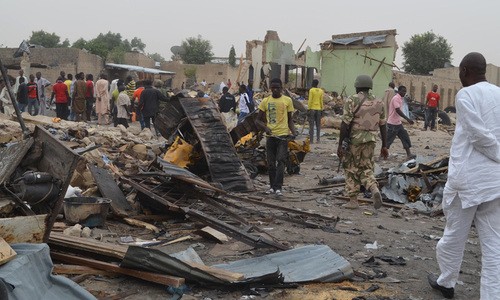 Suicide blasts during Eid holidays kill 31 in Nigeria