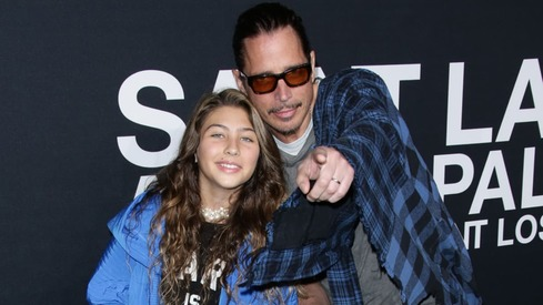 Chris Cornell's daughter pays tribute with a duet on Father's Day