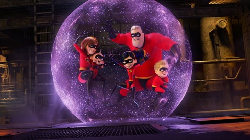 Incredibles 2 has the biggest animated opening in the box office