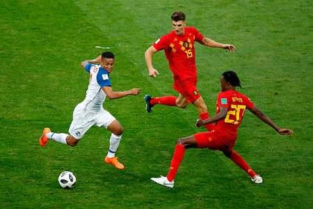 فٹ بال ورلڈکپ 2018 کے مقابلوں میں سویڈن، بیلجیم، انگلیڈ کامیاب