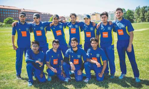 Afghan and Pakistani migrants lead cricket charge in Sweden