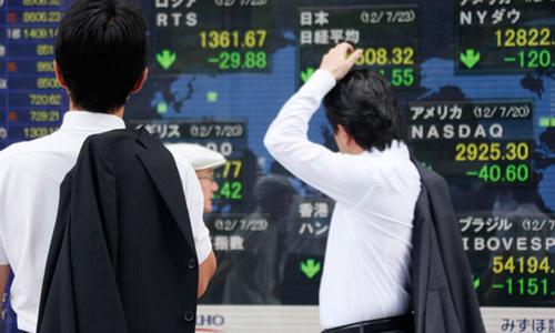 Global stocks falter