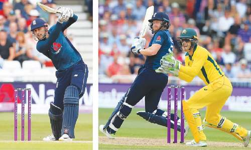 Bairstow, Hales blitz lifts England to world record total