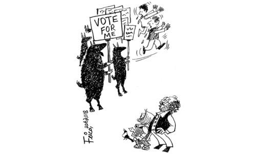 Cartoon: 20 June, 2018