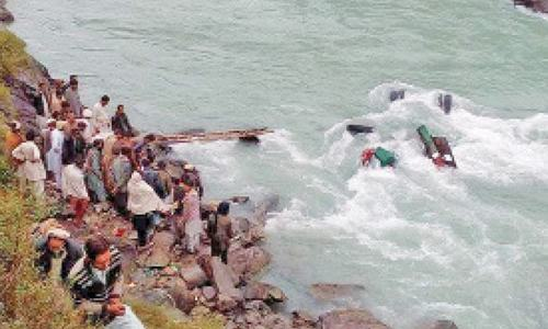 Nine people drown in Swat, Haripur