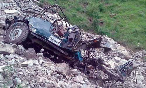 10 die as jeep plunges into ravine in Kaghan