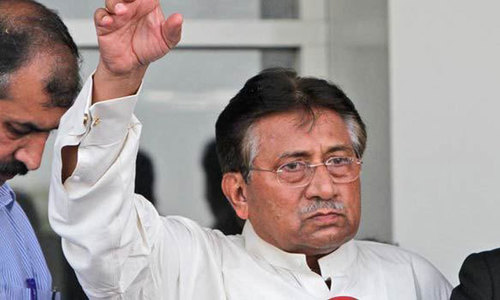 Musharraf explains why he put off his return