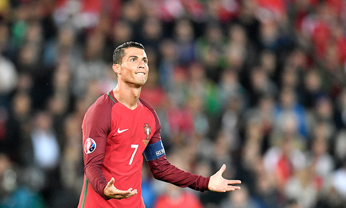 Ronaldo strikes as Portugal sink Morocco