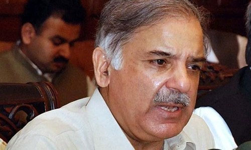 Shahbaz raps governor's rule in held Kashmir