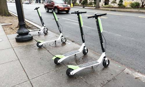 E-scooters scheme launched in France
