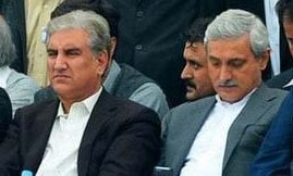 Qureshi says he has no reason to fight with Tareen since latter 'not in the game'