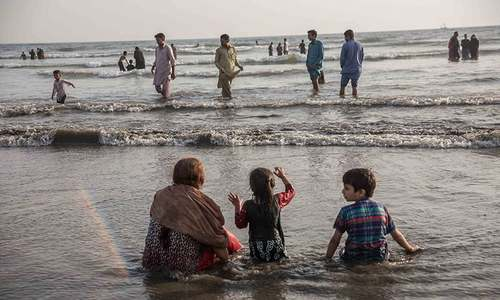 Four women, two children drown at Gadani beach in Hub district