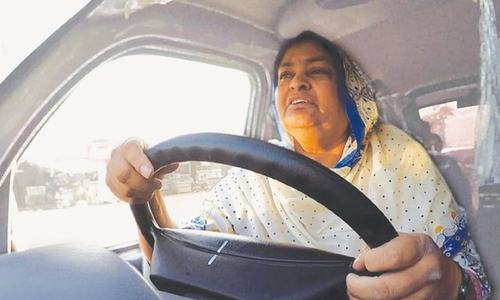 Faisalabad widow turns fate around with a minibus