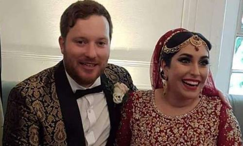Benazir's niece ties  the knot  in London