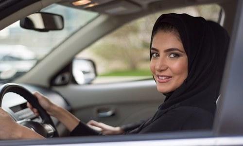 سعودیہ میں خواتین کی ڈرائیونگ سے قبل گاڑیوں کی مانگ میں اضافہ