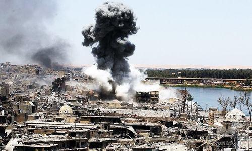 عراقی فوج کا فضائی کارروائی میں داعش کے 45 ارکان ہلاک کرنے کا دعویٰ