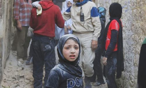 An entire generation of Syrian children face psychological damage, ever-increasing danger and death