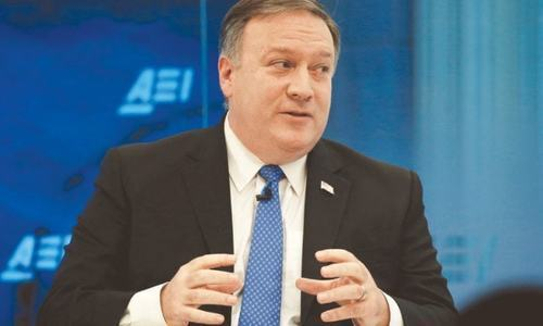 Pompeo warns Iran on nuclear arms