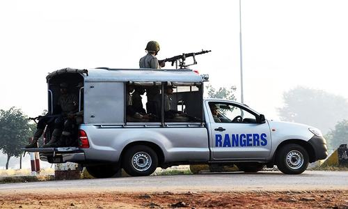 Extension in Rangers stay in Punjab