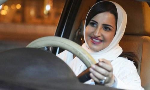 سعودی شاہراہوں پر خواتین کا راج