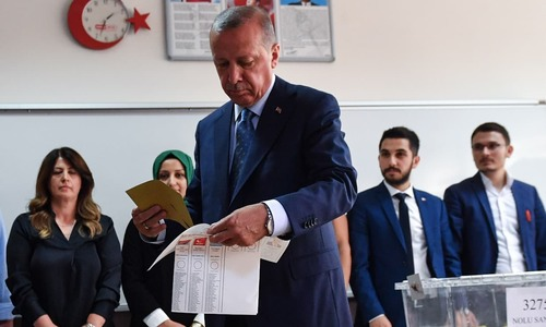 Tayyip Erdogan leads partial count in pivotal Turkey poll