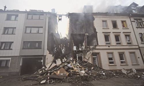 25 injured in building explosion in Germany