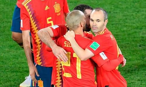 پرتگال، اسپین ورلڈ کپ کے اگلے راؤنڈ میں پہنچ گئے