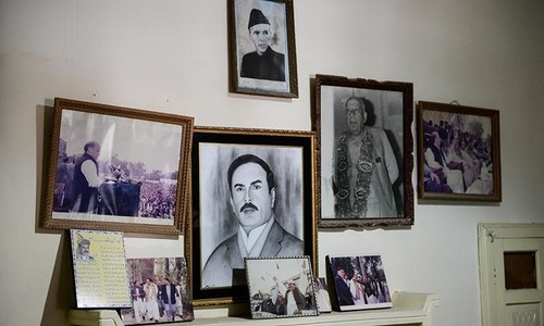 The last thing you would expect to find inside Imran Khan's ancestral Mianwali home