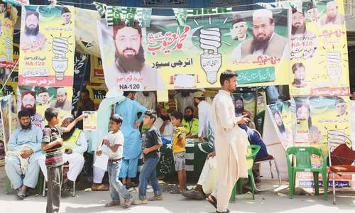 Fringe groups encroach upon old religious parties' domain