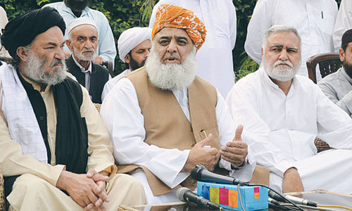 JUI-F gets most MMA election tickets
