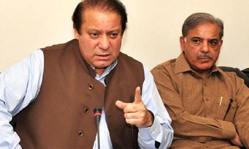 Nawaz, Shahbaz accuse courts, NAB of pre-election rigging
