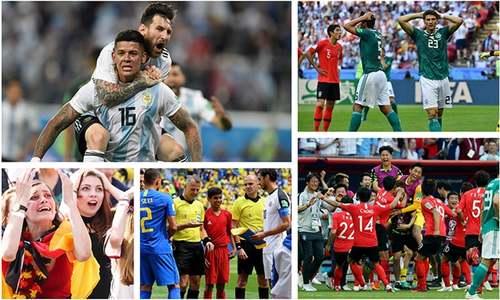 کہانی فٹبال ورلڈ کپ کے ابتدائی مرحلے کی