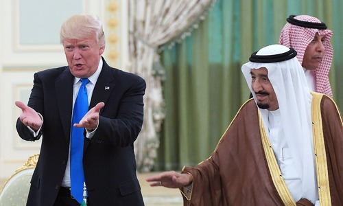 US President Trump says Saudi king agrees to ramp up oil production