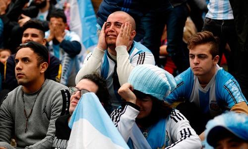 رونالڈو اور میسی کی ٹیمیں ورلڈ کپ سے باہر