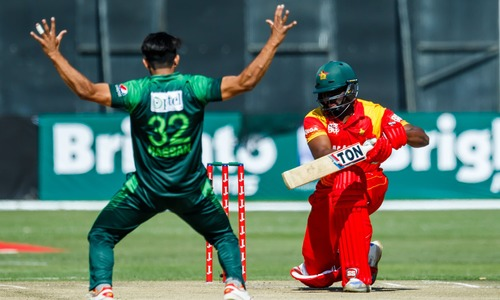 Zaman's career best 61 lift Pakistan to victory against host Zimbabwe