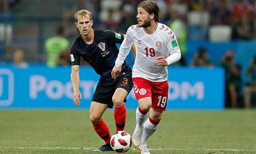 کروشیا نے ڈنمارک کو پینالٹی شوٹ آؤٹ میں 2-3 سے شکست دے دی
