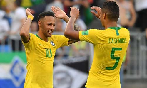 نیمار کا شاندار کھیل، برازیل کوارٹر فائنل میں پہنچ گیا
