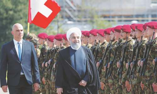 Iranian president in Europe to rally support for nuclear deal