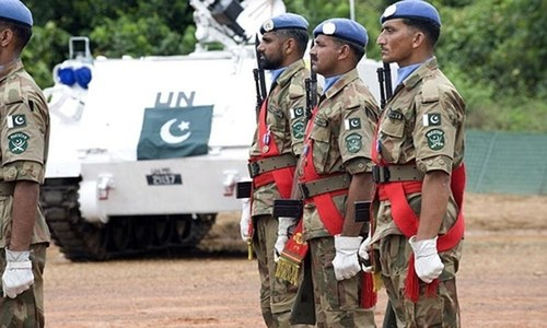 Pakistan reaffirms support to UN peacekeeping operations